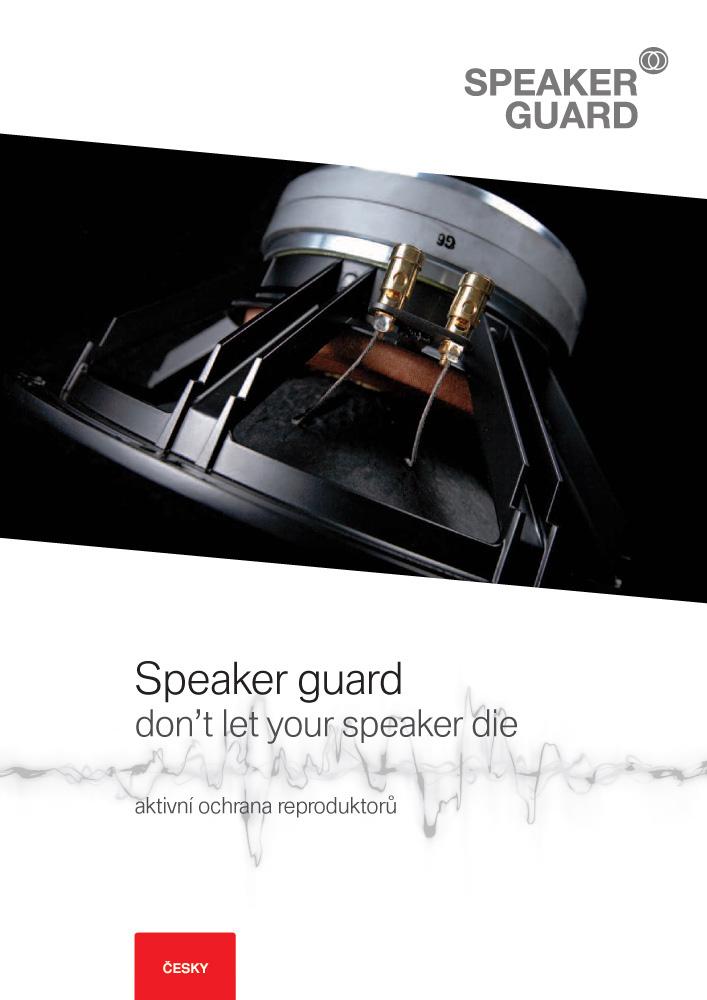 Leták SpeakerGuard CZ
